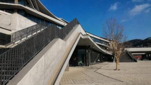 長崎県庁 屋外階段