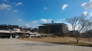 長崎県庁 広場