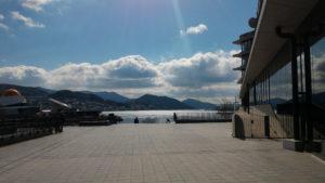 長崎県庁 2階屋外フロア