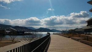 長崎県庁屋外フロア 景観