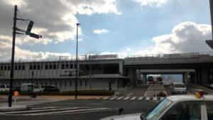 長崎県庁、県警 駐車場