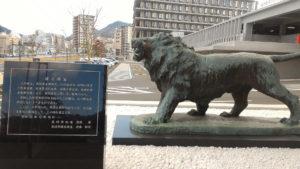 長崎県庁の彫像