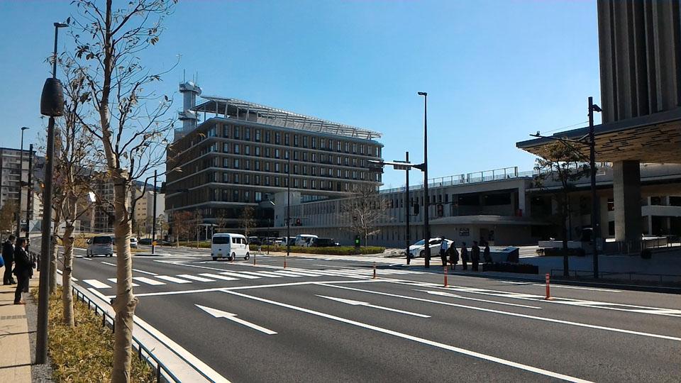 県庁舎駐車場アクセス