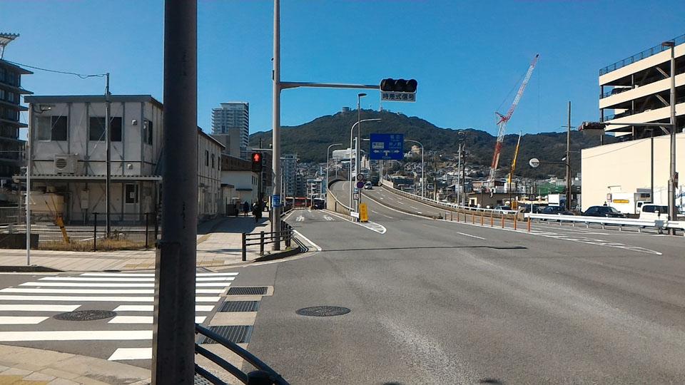 旭大橋沿い道路