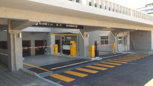 長崎県庁新庁舎・外来者駐車場へのアクセス