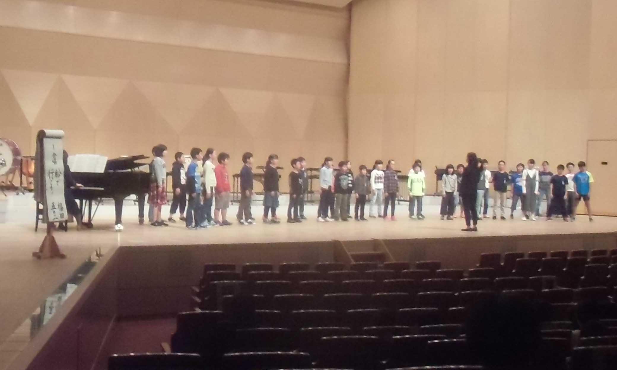 小音会があります。第72回長崎市小学校音楽会 11月27日(火)から29日(木)まで