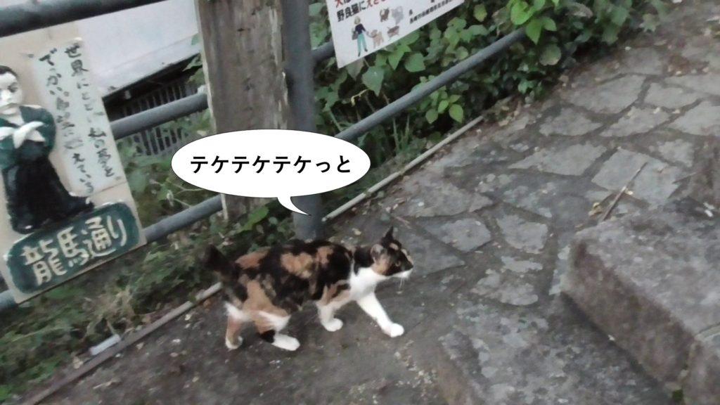 テケテケテケ