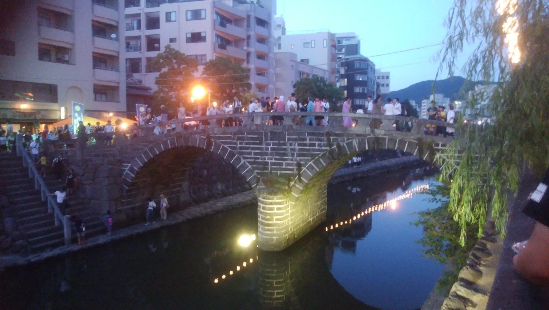長崎夜市 眼鏡橋